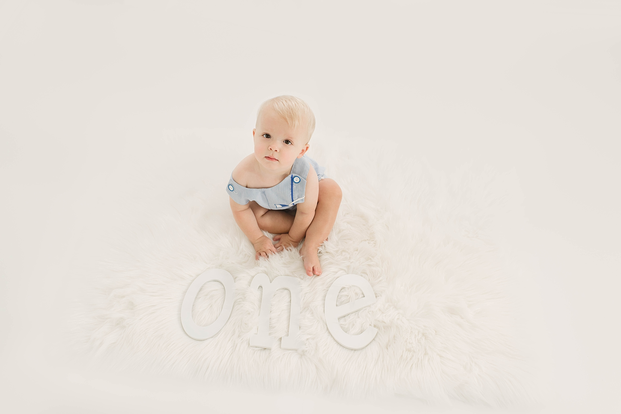 Centerville Ohio Milestone Photographer – Baby Micah {big one}