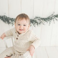 Centerville Ohio Photographer – Baby Everett {big one / cake smash}