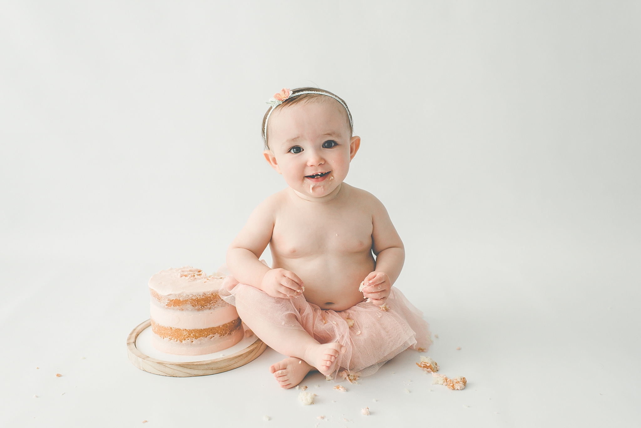 Centerville Ohio Baby Photography – Lenah Turns ONE!