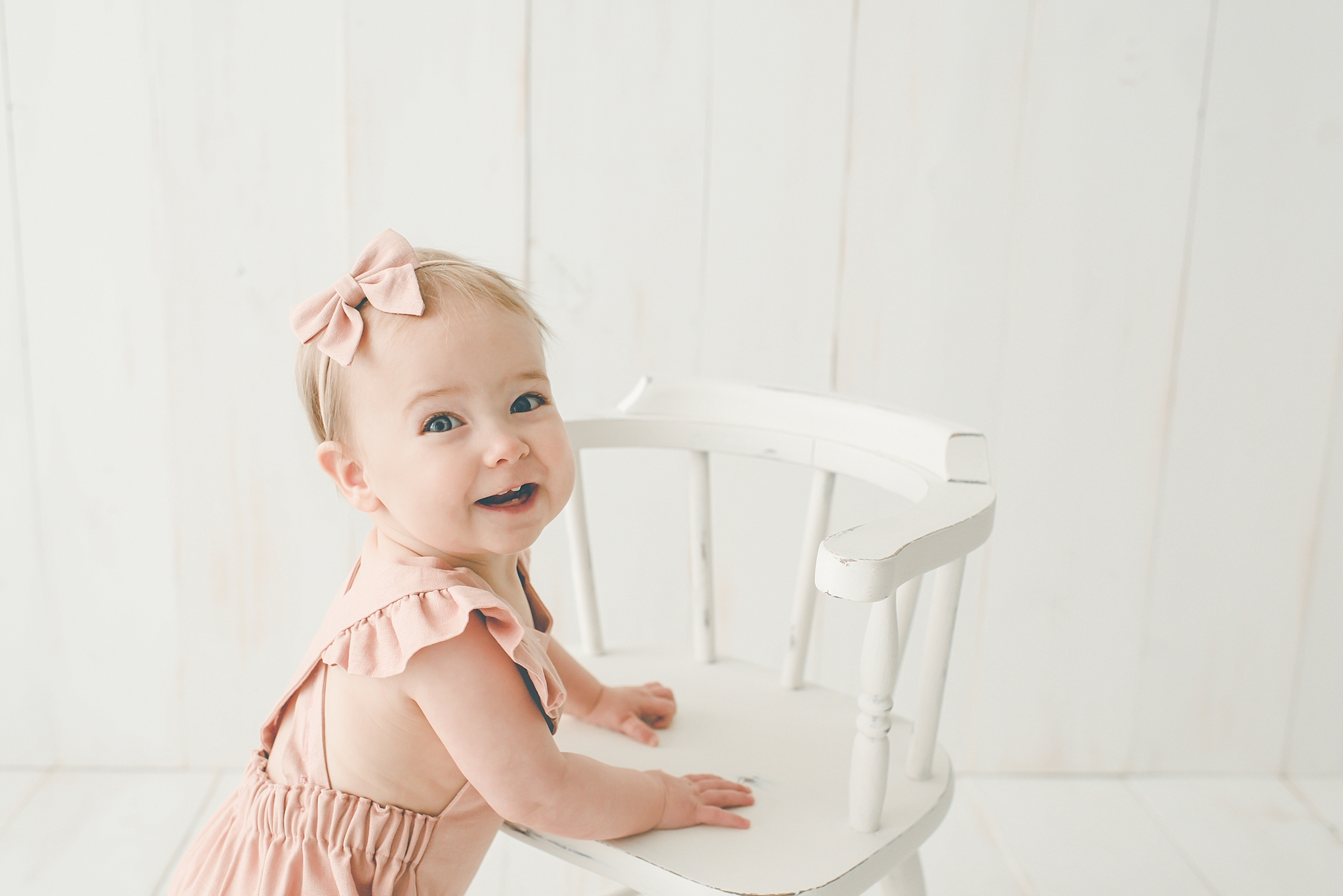 Centerville Ohio Cake Smash Photographer – Baby Amelia Turns ONE!
