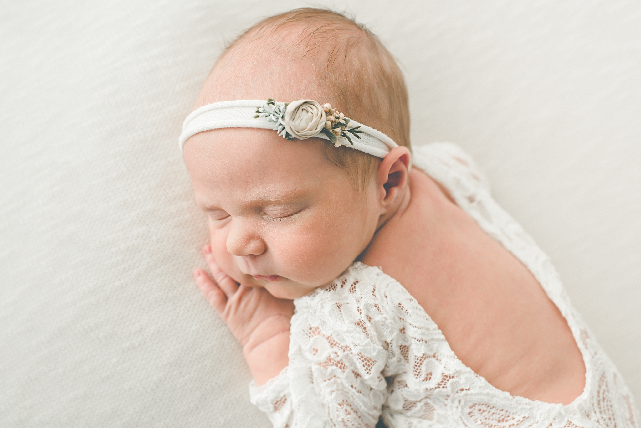 Centerville Ohio Newborn Photographer – Baby Shay