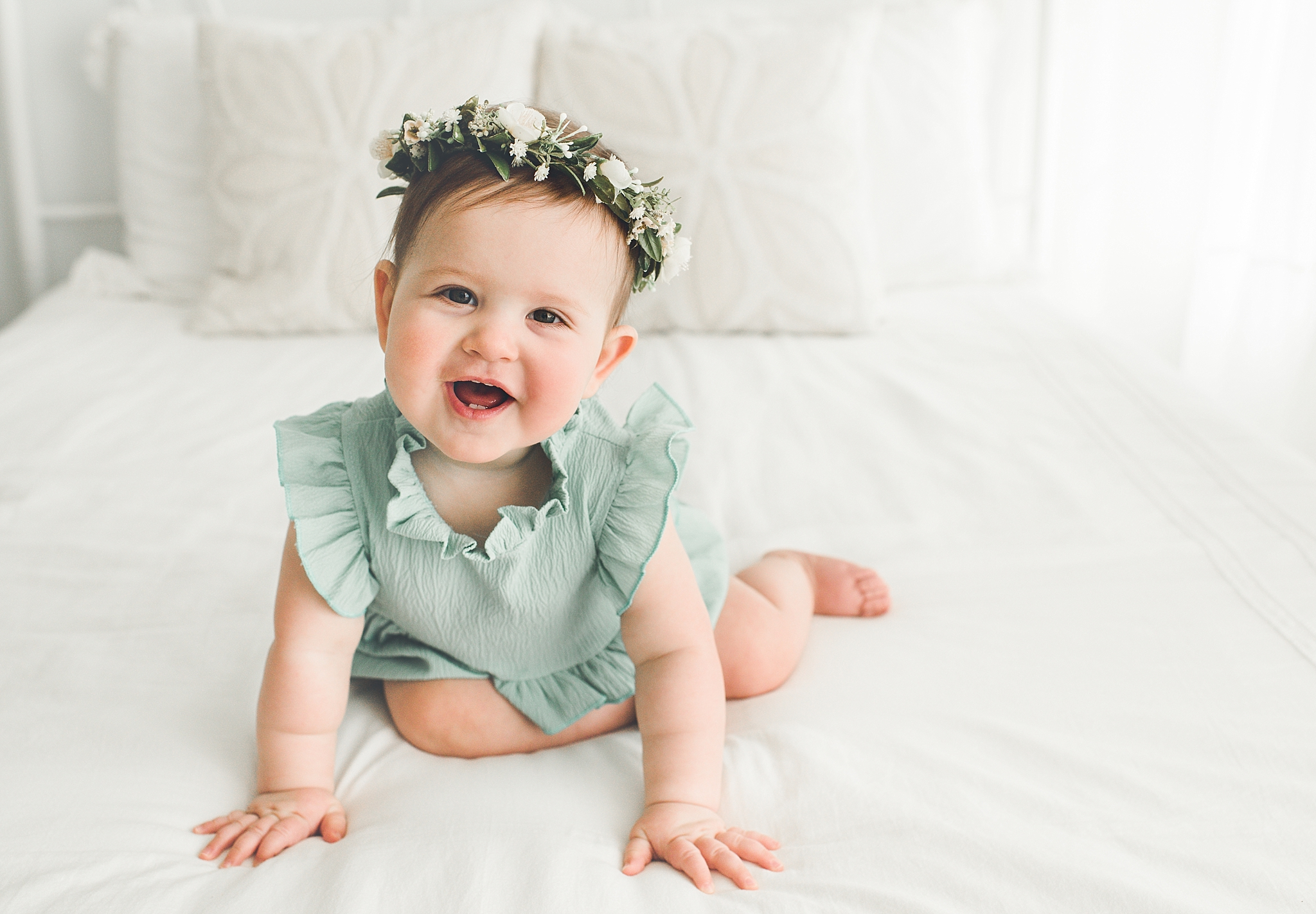 Centerville Ohio Baby Photographer | Adeline is Sitting