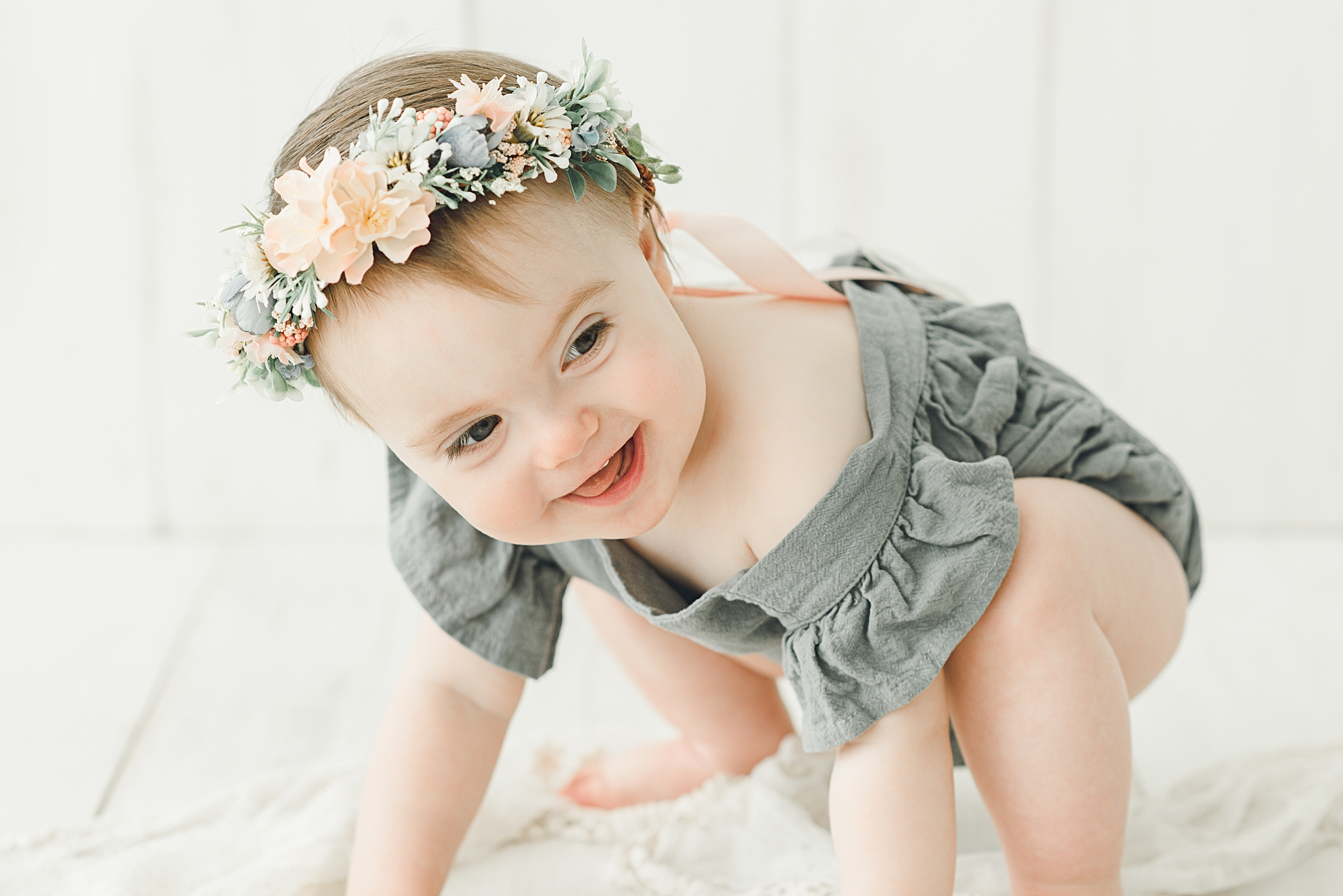 Oakwood Ohio Baby Photographer | Ensley's Cake Smash